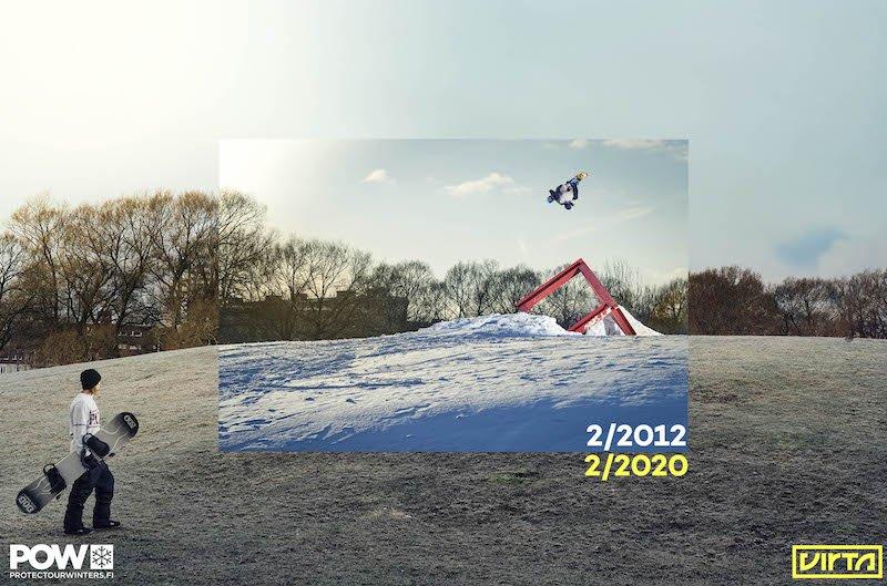 Winter – POW & Virta: Wo ist der Schnee geblieben? Nachhaltige Denkanstöße in Bildern!