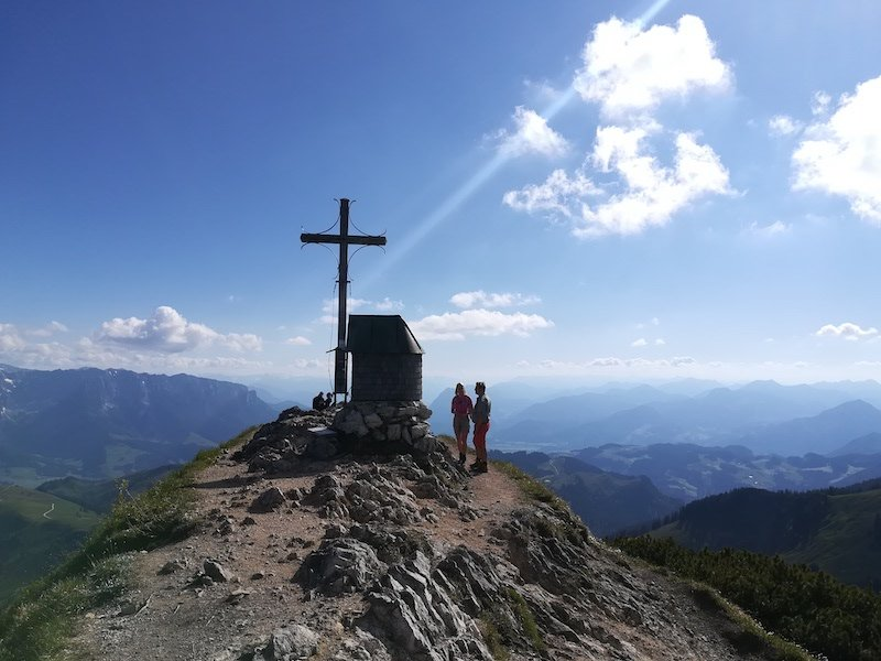 Ziele – Weitlahnerkopf (1.615 m)  / Geigelstein (1.808m): Geigelstein-Weitlahnerkopf-Reibn in den Chiemgauer Alpen