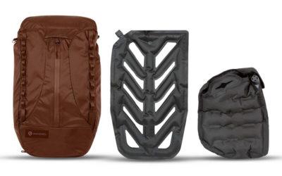 News – WANDRD VEER: Innovatives Faltrucksack-Konzept mit aufblasbarem Rückenpolster